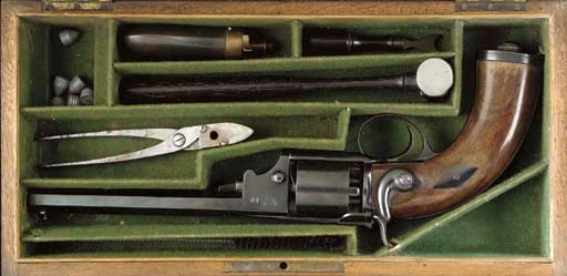 A CASED .41 FRENCH DEVISME PAT
