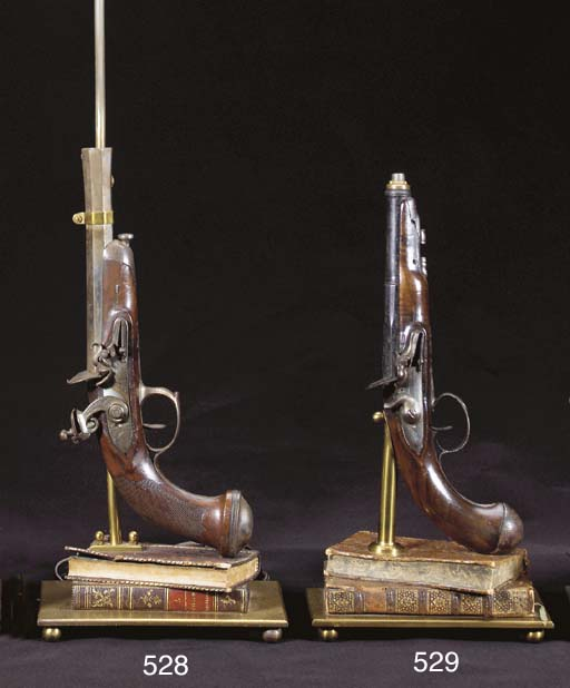 A FRENCH FLINTLOCK OFFICER'S P