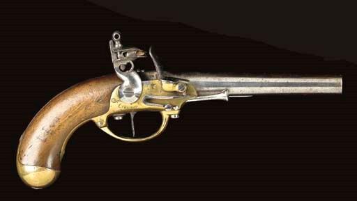 A .72 FRENCH 1777 MODEL FLINTL