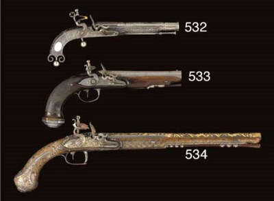 A PAIR OF .65 FRENCH FLINTLOCK