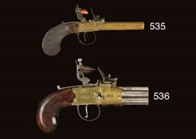 A RARE .33 ENGLISH SEVEN-SHOT