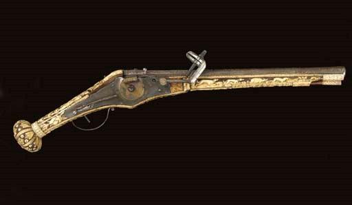 A .55 GERMAN (BRUNSWICK) WHEEL