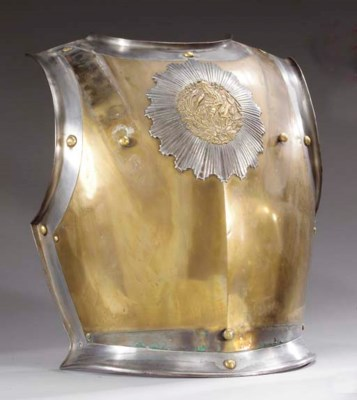 A TROOPER'S BREASTPLATE OF THE