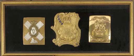 THREE BRITISH OFFICERS' VICTOR