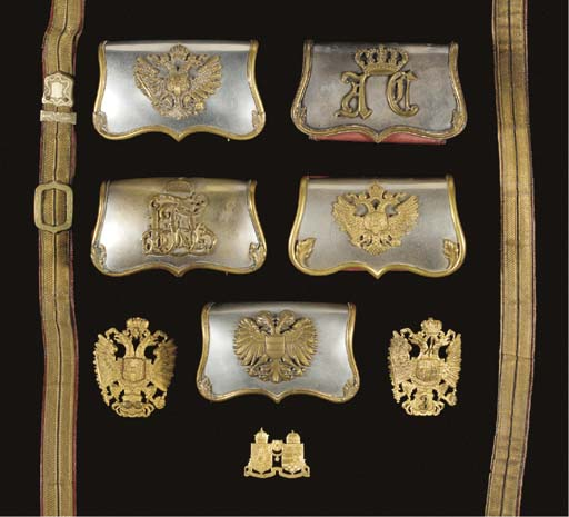 OFFICERS' ACCOUTREMENTS AND IN