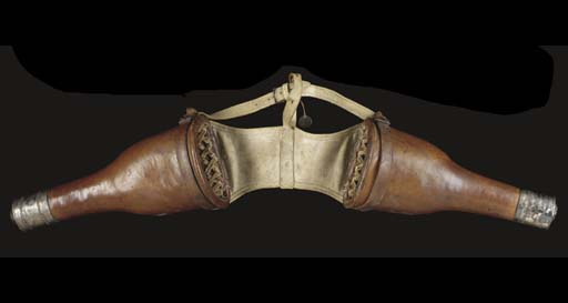 A PAIR OF FRENCH OFFICER'S HOR