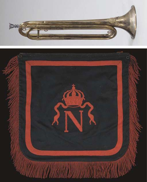 A TRUMPET-BANNER OF THE GARDE
