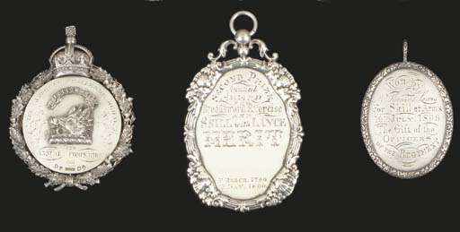 THREE BRITISH SILVER MEDALS