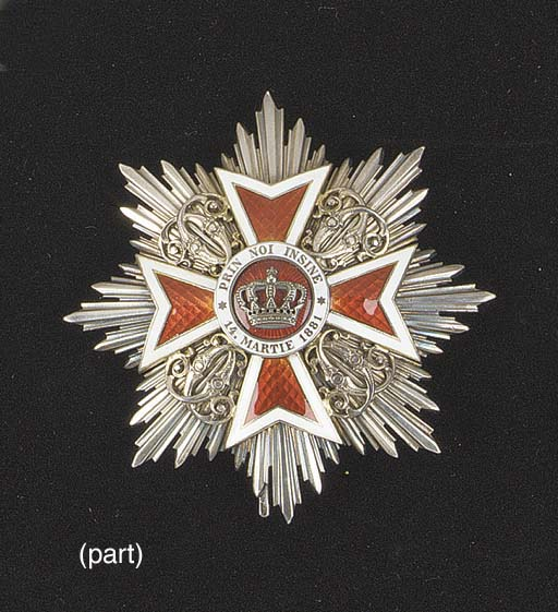 ROMANIA, THE ORDER OF THE CROW