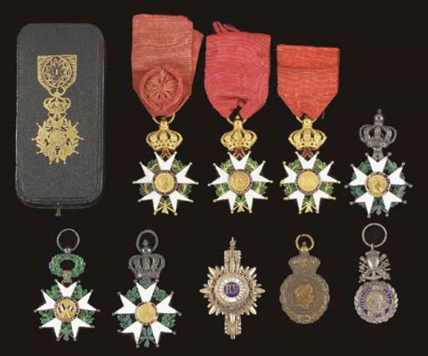 FRANCE: INSIGNIA OF THE LEGION