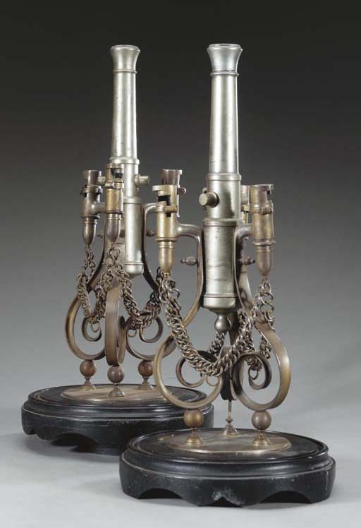 A PAIR OF 19TH CENTURY PRESENT