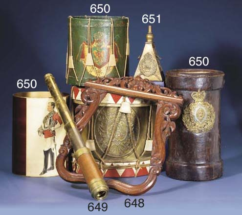 A PRUSSIAN SIDE-DRUM (ADAPTED)
