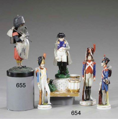 PORCELAIN FIGURINES OF FRENCH