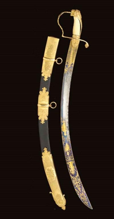 A PRESENTATION SWORD TO THE LI