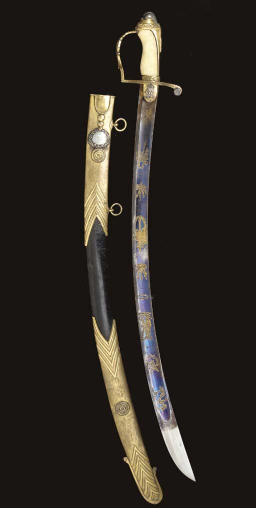 A PRESENTATION SWORD TO LIEUTE