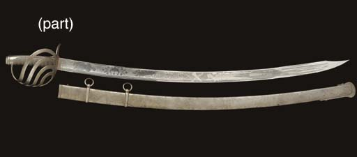 TWO EUROPEAN CAVALRY SABRES