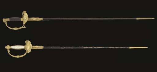 TWO 19TH CENTURY EPÉES