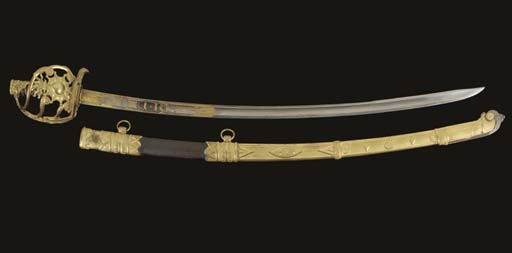 A SWORD IN THE STYLE OF A CONS