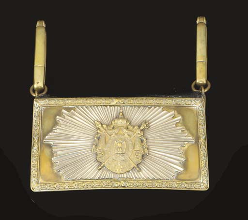 AN OFFICER'S POUCH OF THE CENT