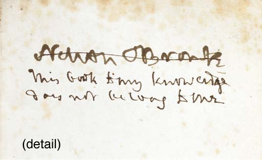 [NELSON, Horatio, Lord]. A Por