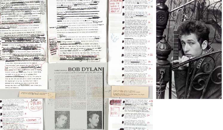 DYLAN, Bob (b.1941). Typed man