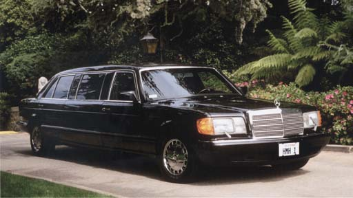 1988 Mercedes Benz 560 SEL Str