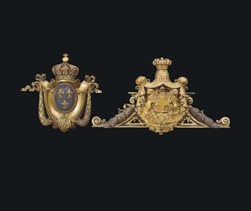 TWO CONTINENTAL GILTWOOD AND P