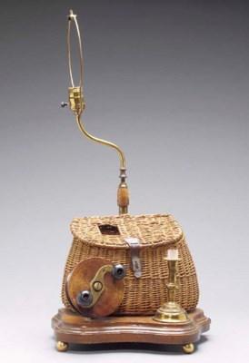 A FISHING THEME LAMP