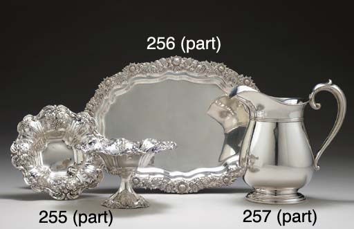 A GROUP OF AMERICAN SILVER HOL