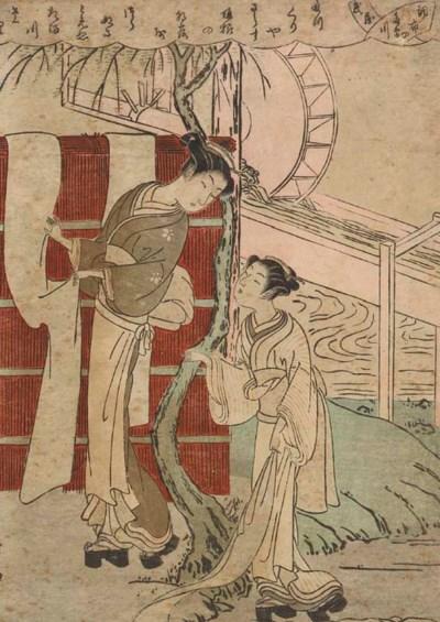 Suzuki Harunobu (1724-1770) To