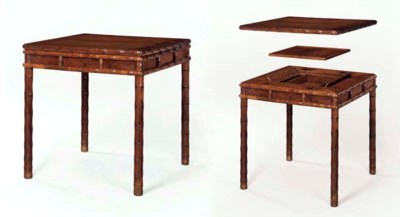 A HUANGHUALI GAMES TABLE, FANG