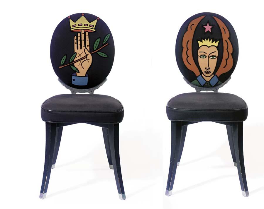 Paire de chaises Funny Valenti
