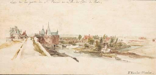 Adam Frans van der Meulen (163