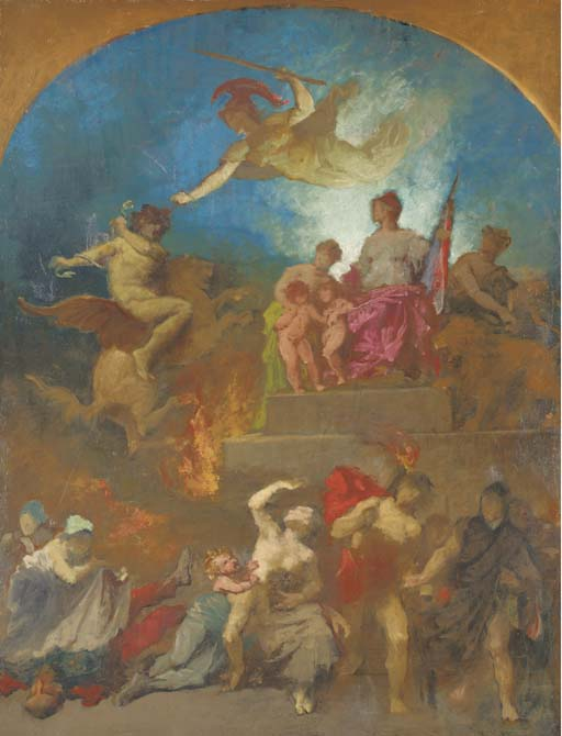 Attribué à Eugène Romain Thiri