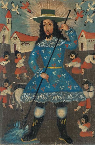 ECOLE MEXICAINE DU XVIIIeme SI