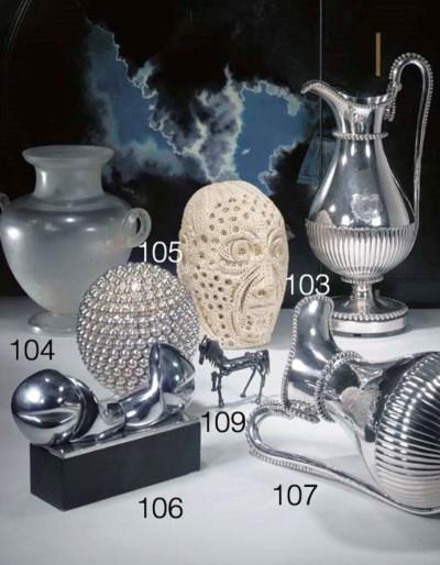 Sculpture représentant un chev