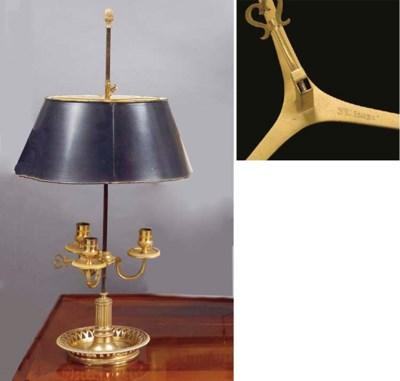 LAMPE BOUILLOTTE DE LA FIN DU
