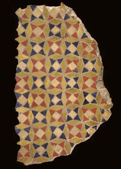 FRAGMENT DE MOSAIQUE