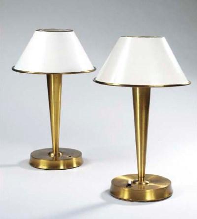 PAIRE DE LAMPES, REF. 506