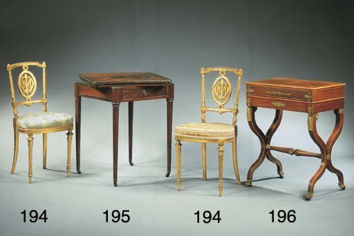 TABLE A OUVRAGES D'EPOQUE CHAR
