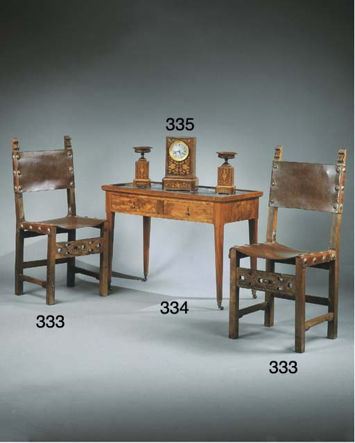 garniture de cheminee d 39 epoque louis philippe christie 39 s. Black Bedroom Furniture Sets. Home Design Ideas