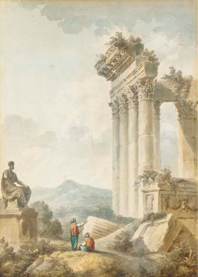 ENTOURAGE D'HUBERT ROBERT (173