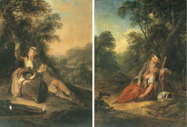 GOTTLIEB WELTE (MAYENCE 1745-1