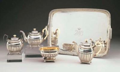 Servizio tè e caffè di quattro