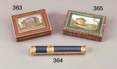 Portaceralacca Luigi XVI in or