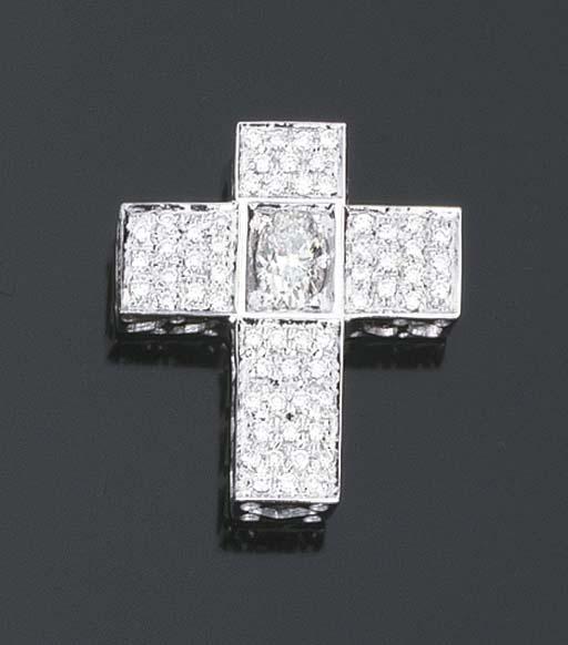 Croce in diamanti
