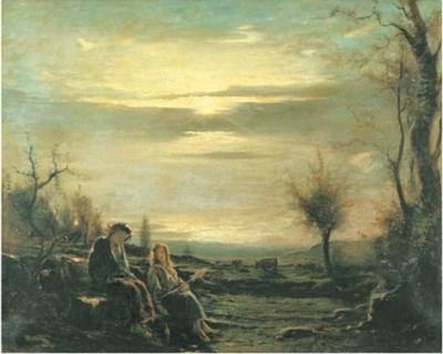 Cerchia di Antonio Fontanesi (