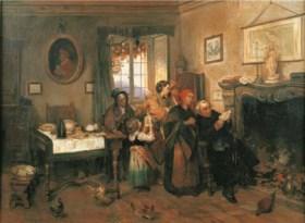 Cerchia di Gerolamo Induno (1827-1890)