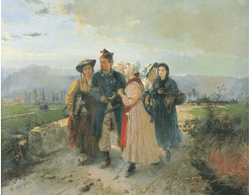 Gerolamo Induno (Milano 1827-1