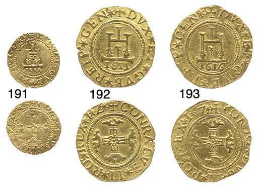 Scudo (o Mezza Doppia), 1555,